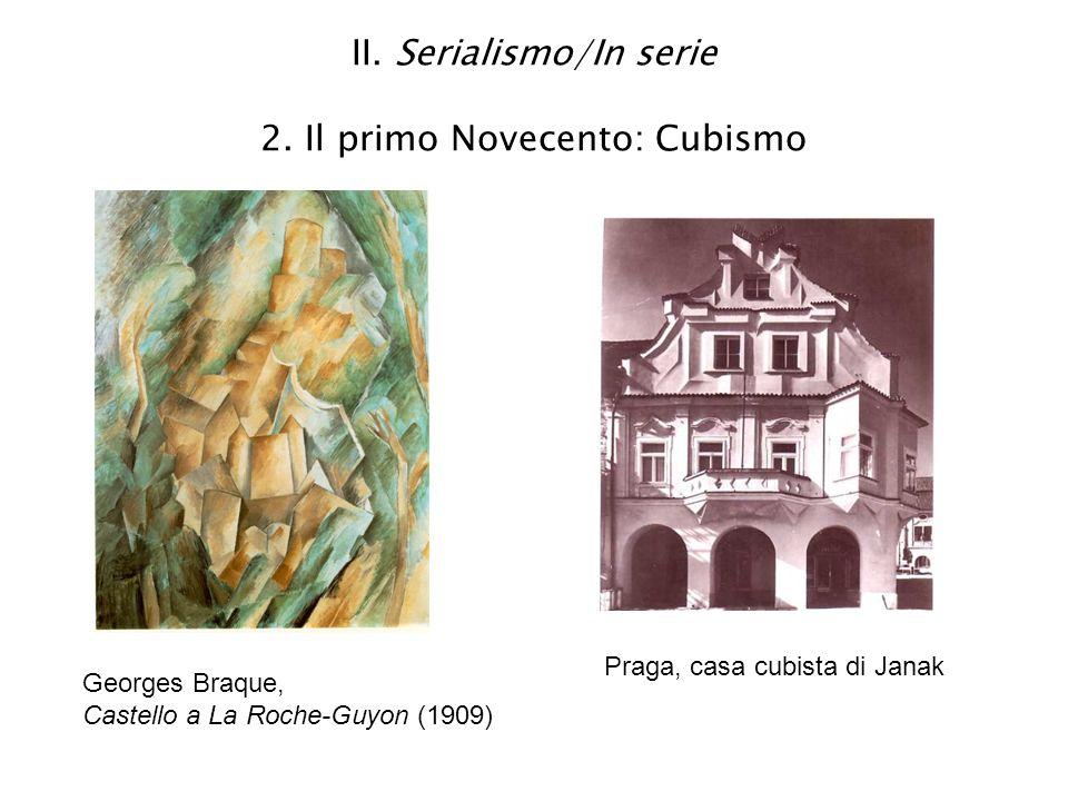 II. Serialismo/In serie 2. Il primo Novecento: Cubismo