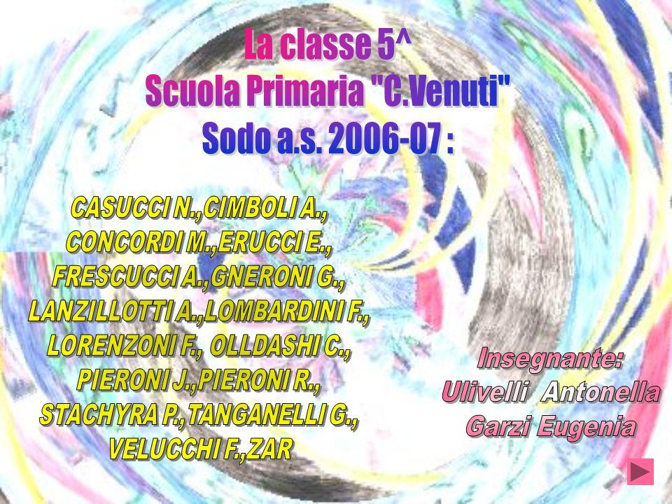 Scuola Primaria C.Venuti Sodo a.s. 2006-07 :