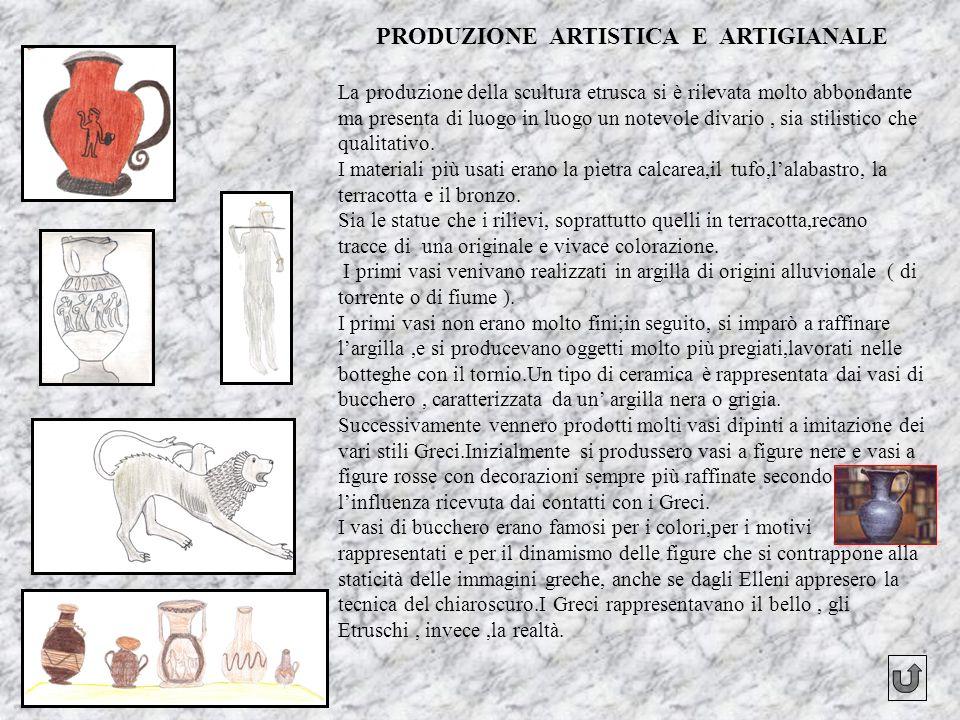 PRODUZIONE ARTISTICA E ARTIGIANALE