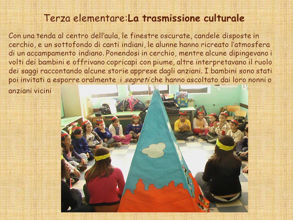 Terza elementare:La trasmissione culturale