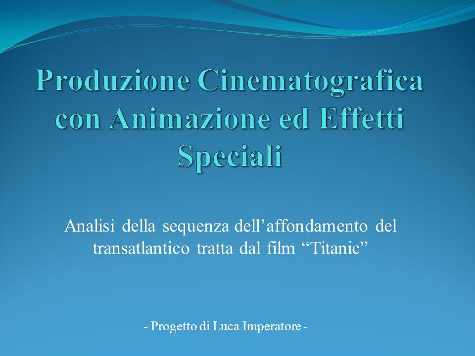 Produzione Cinematografica con Animazione ed Effetti Speciali
