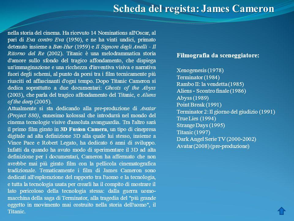 Scheda del regista: James Cameron