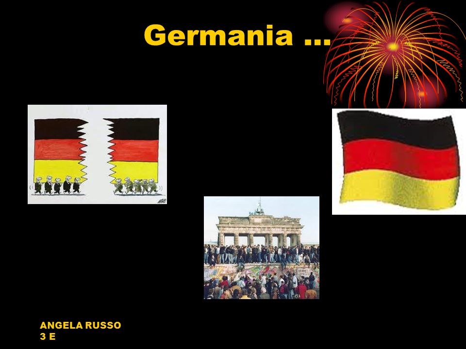 Germania … ANGELA RUSSO 3 E