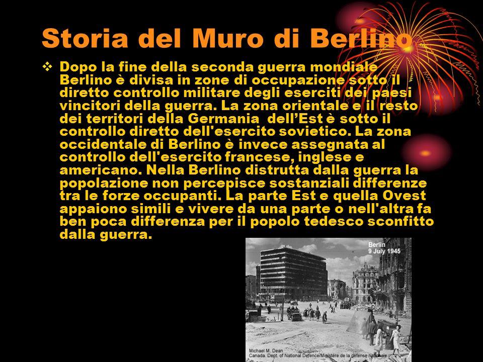Storia del Muro di Berlino