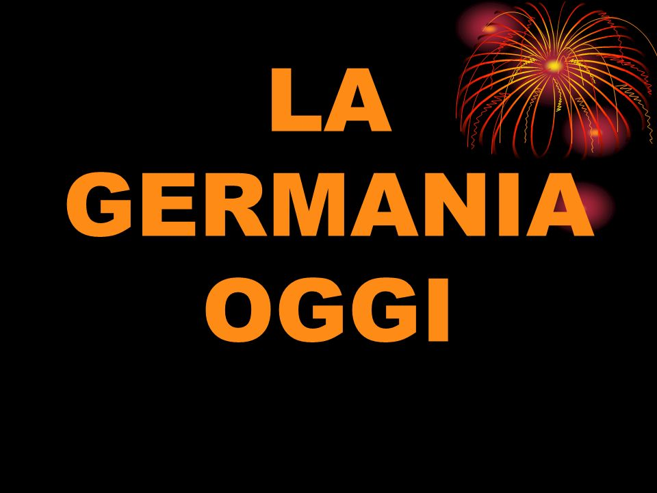 LA GERMANIA OGGI