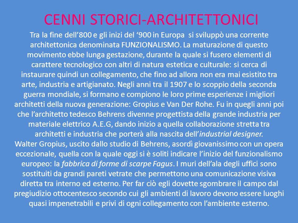 CENNI STORICI-ARCHITETTONICI
