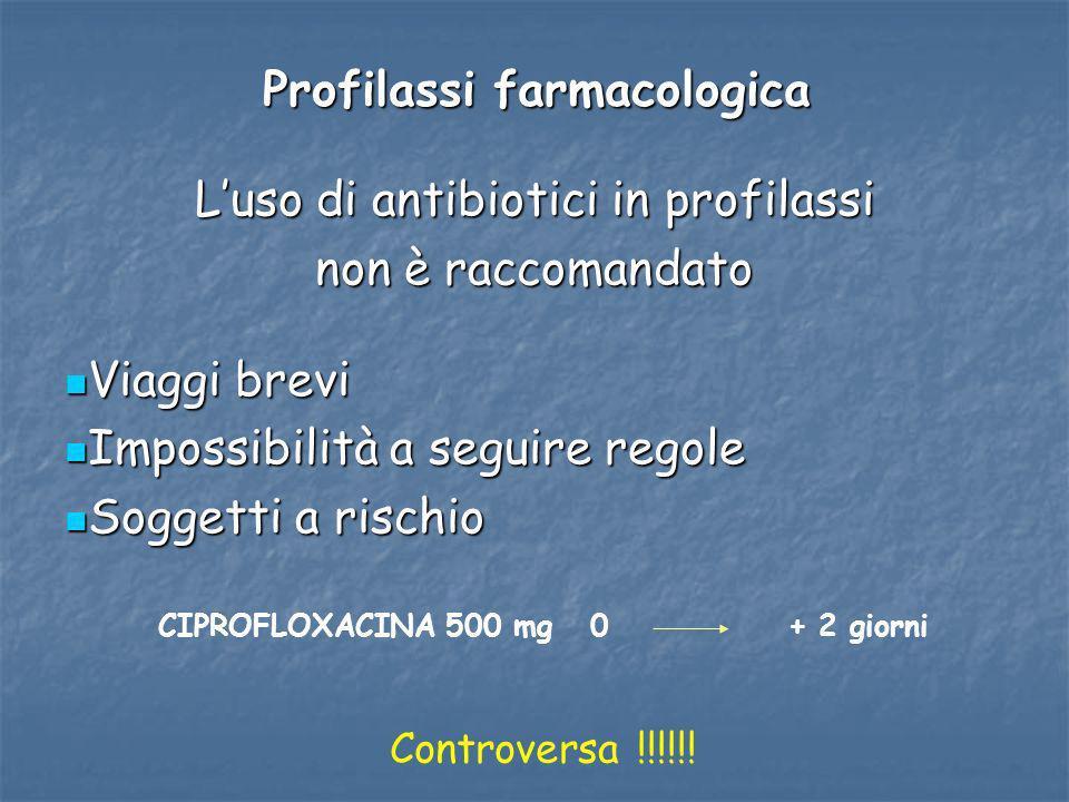 Profilassi farmacologica