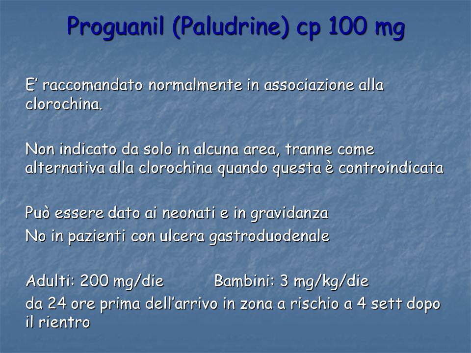 Proguanil (Paludrine) cp 100 mg