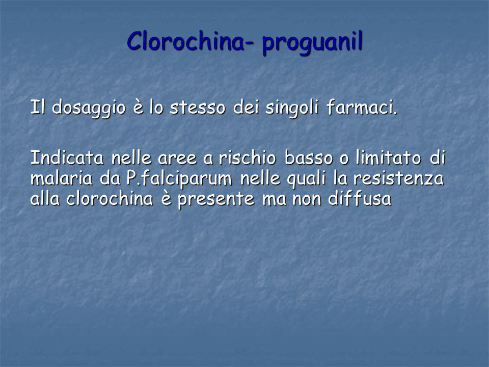 Clorochina- proguanil