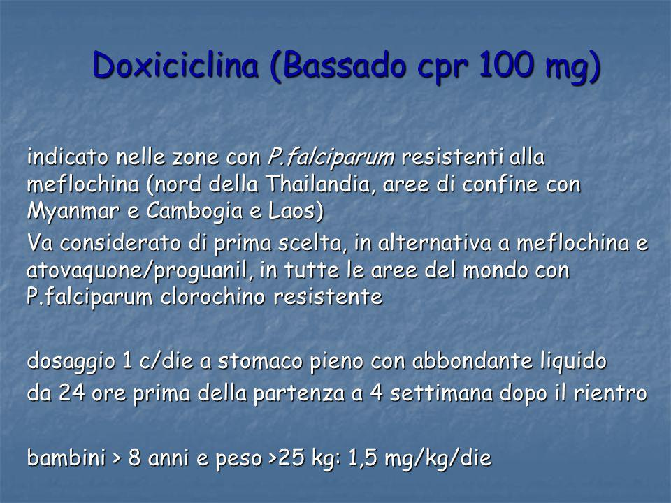 Doxiciclina (Bassado cpr 100 mg)