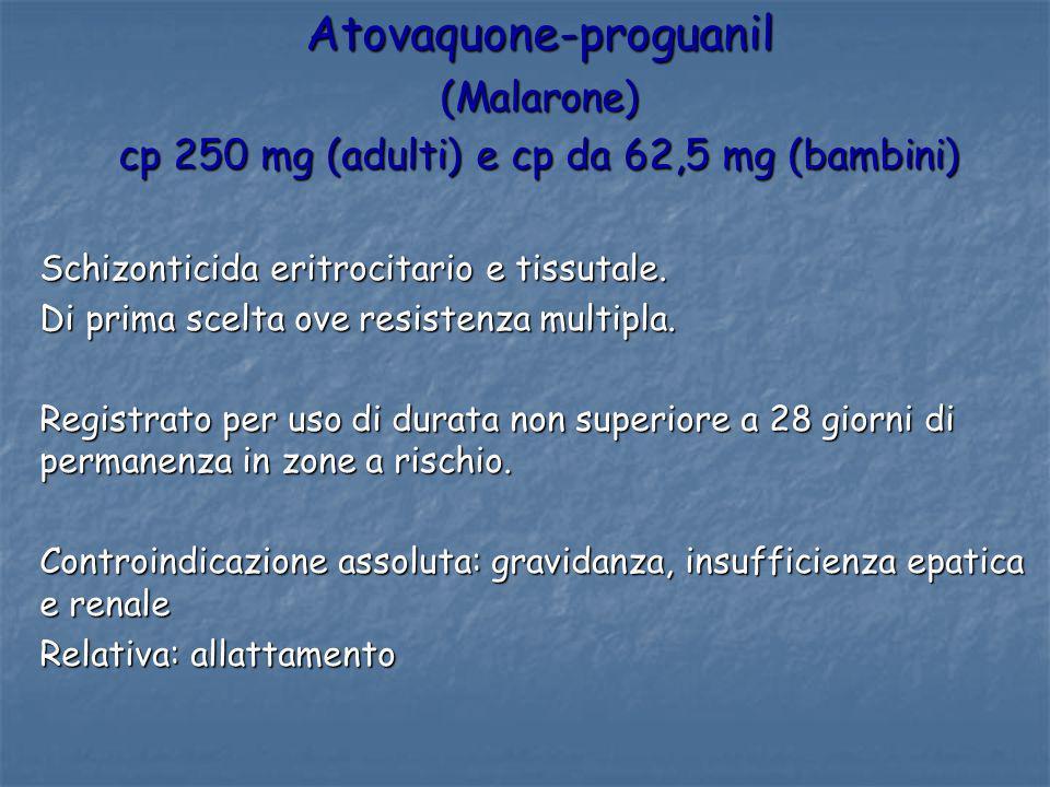 Atovaquone-proguanil