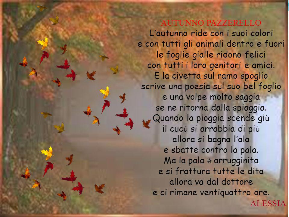 L'autunno ride con i suoi colori