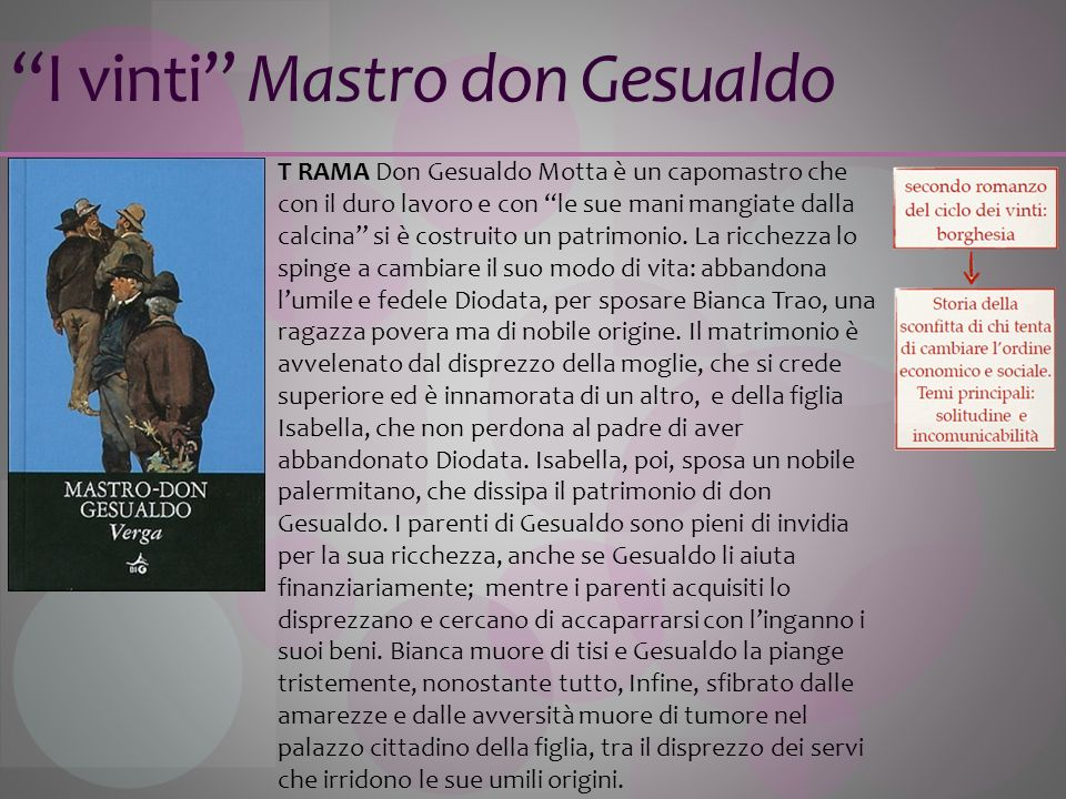 I vinti Mastro don Gesualdo