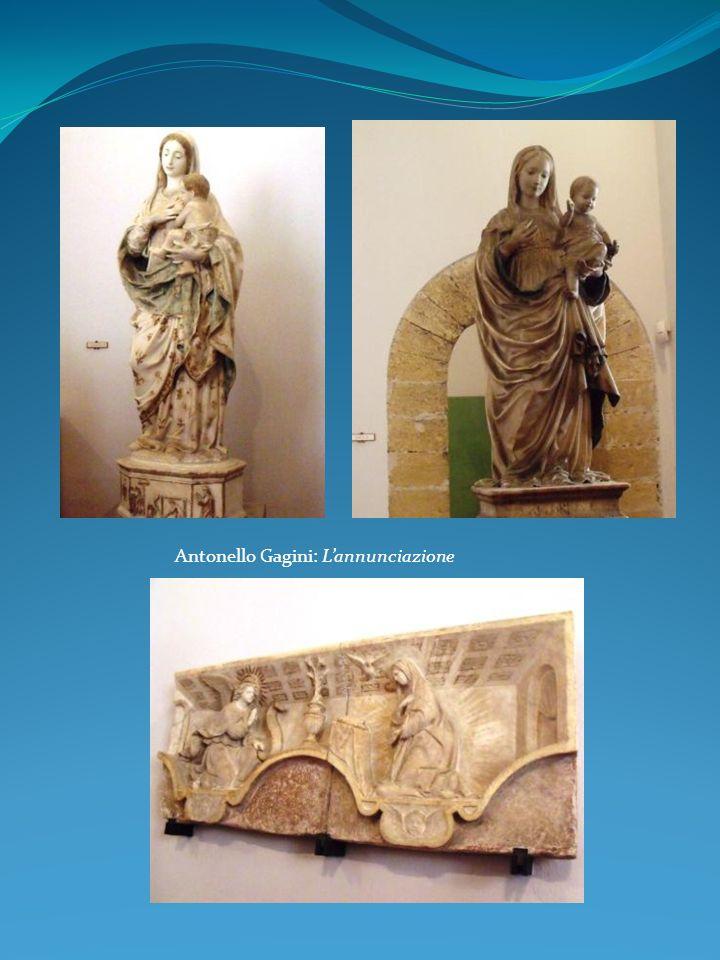 Antonello Gagini: L'annunciazione