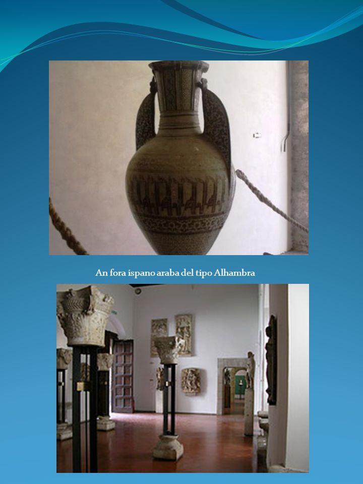 An fora ispano araba del tipo Alhambra