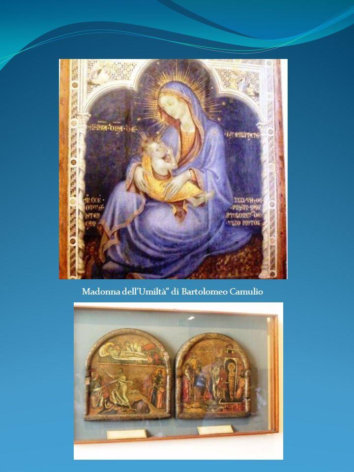 Madonna dell'Umiltà di Bartolomeo Camulio