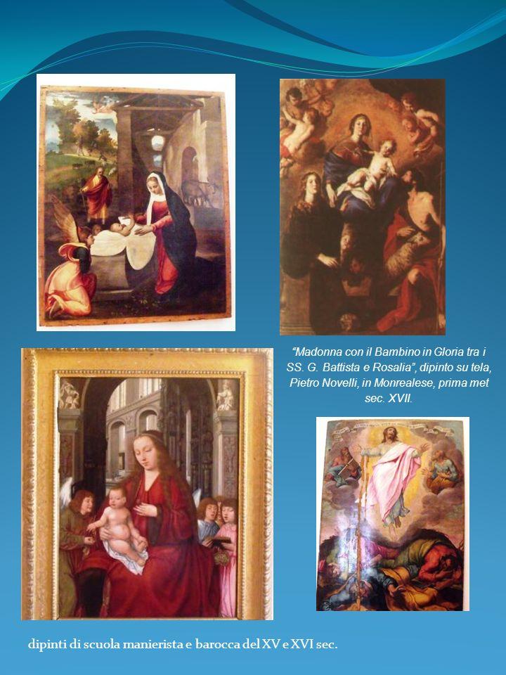 dipinti di scuola manierista e barocca del XV e XVI sec.
