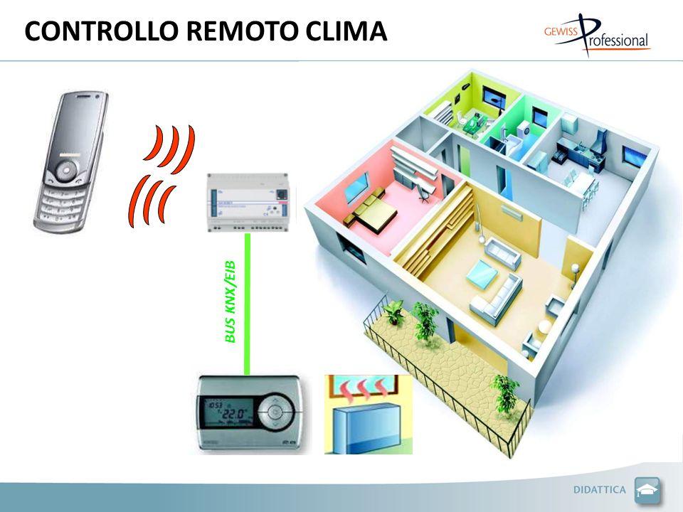 CONTROLLO REMOTO CLIMA