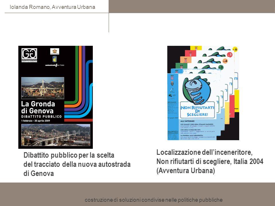 Localizzazione dell'inceneritore, Non rifiutarti di scegliere, Italia 2004 (Avventura Urbana)