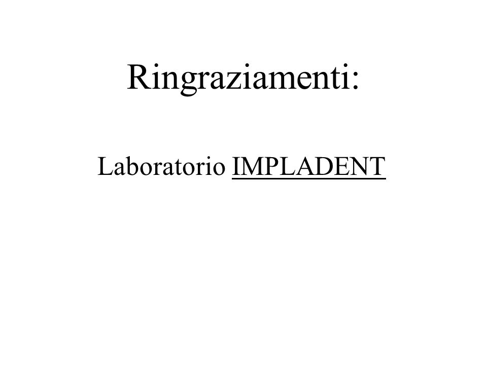 Laboratorio IMPLADENT
