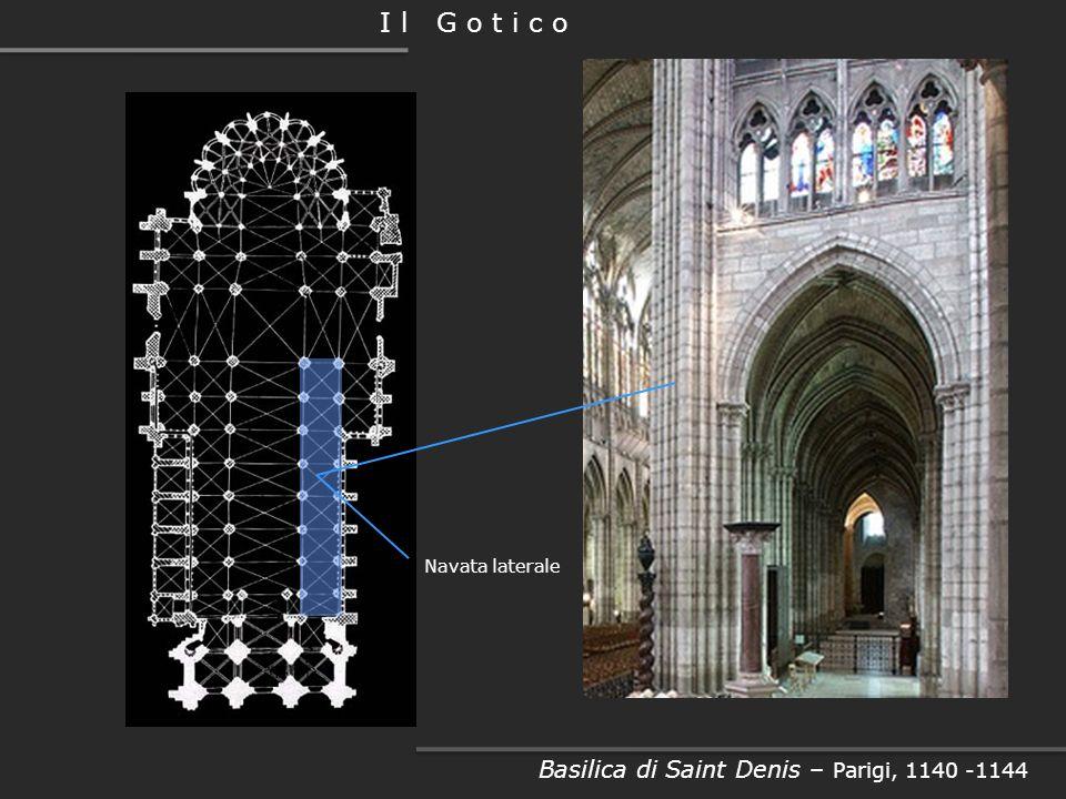 Basilica di Saint Denis – Parigi, 1140 -1144