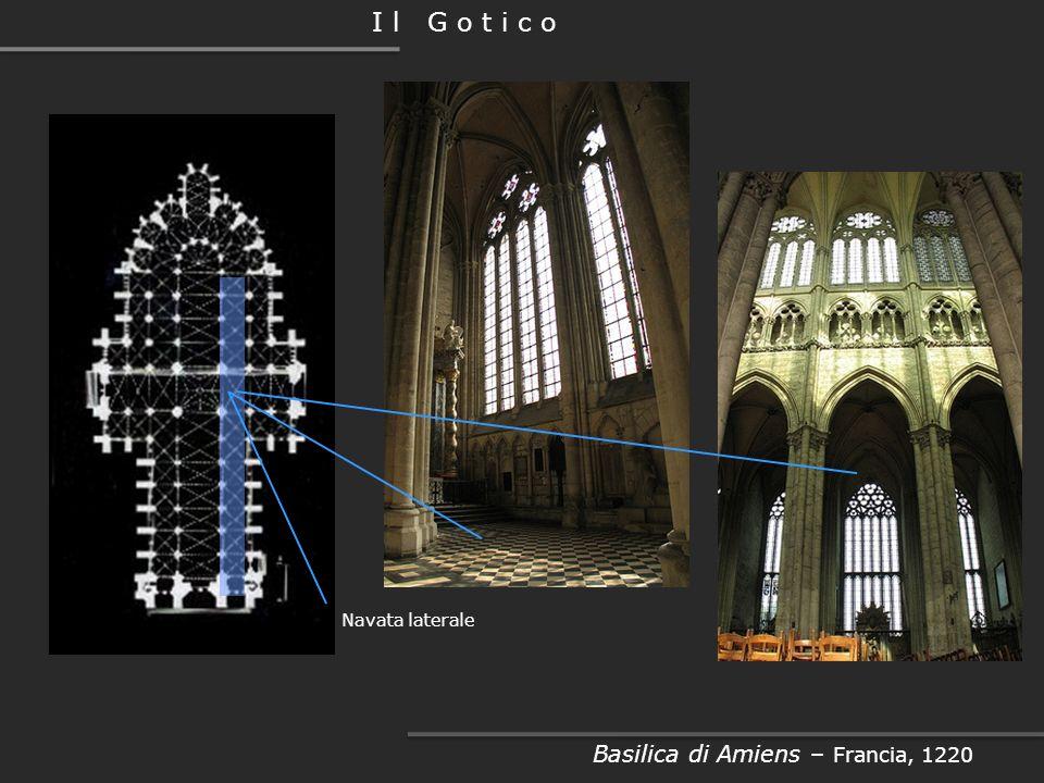 Basilica di Amiens – Francia, 1220