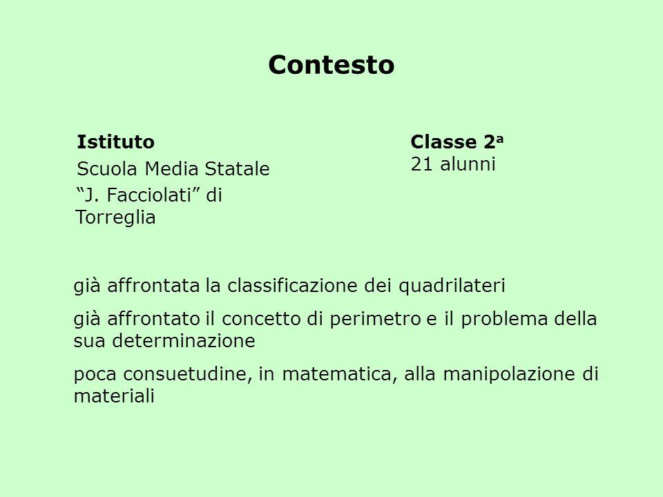 Contesto Istituto Scuola Media Statale J. Facciolati di Torreglia