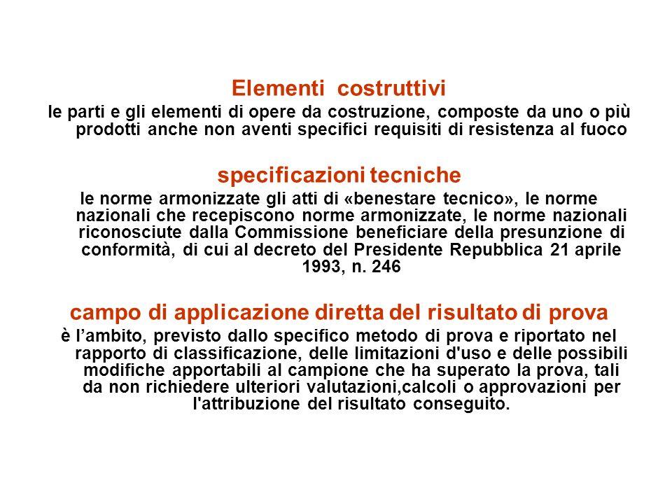 specificazioni tecniche