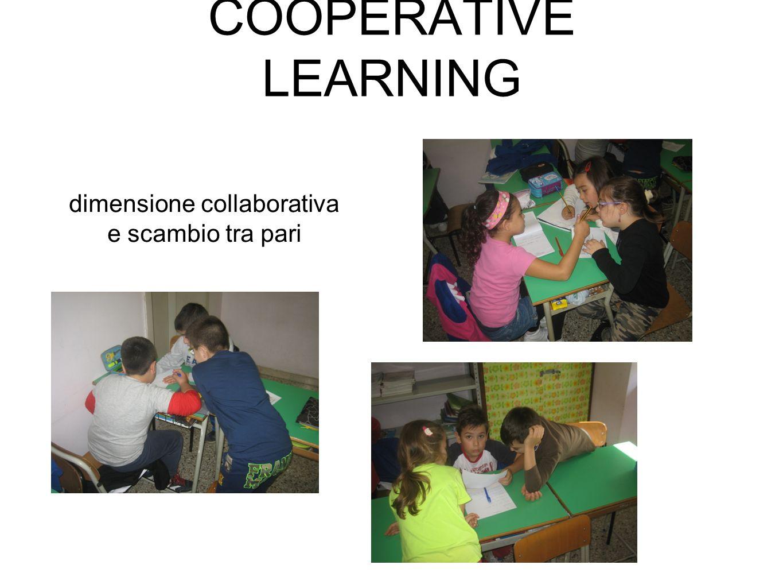 dimensione collaborativa e scambio tra pari