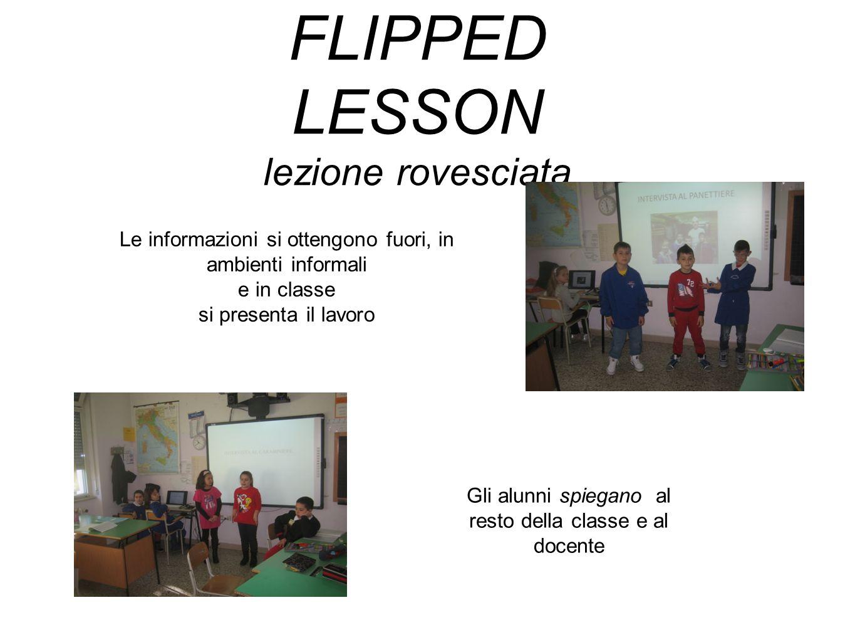 FLIPPED LESSON lezione rovesciata