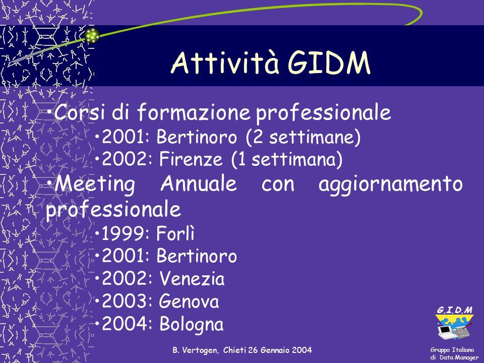 B. Vertogen, Chieti 26 Gennaio 2004