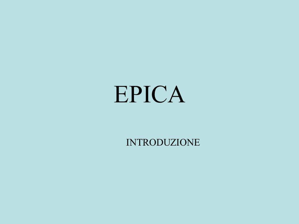 EPICA INTRODUZIONE