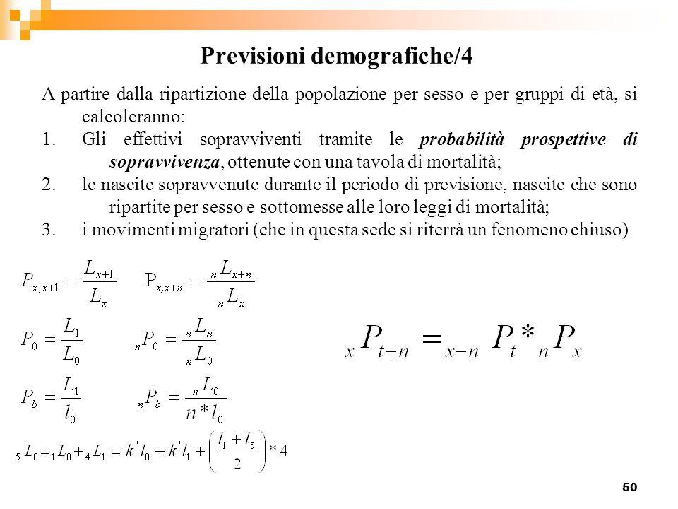 Previsioni demografiche/4
