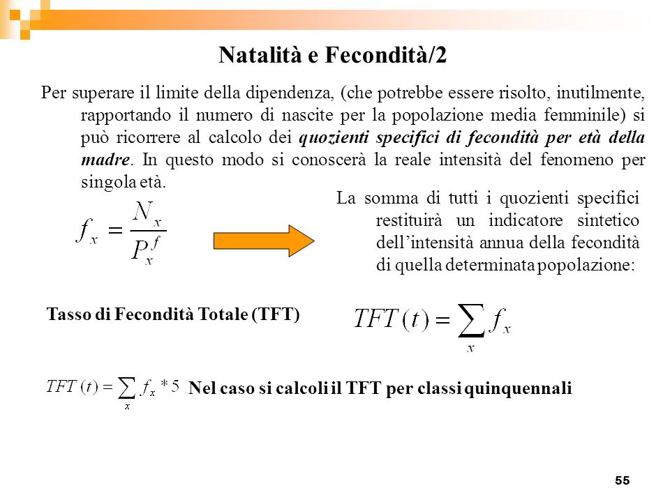 Natalità e Fecondità/2