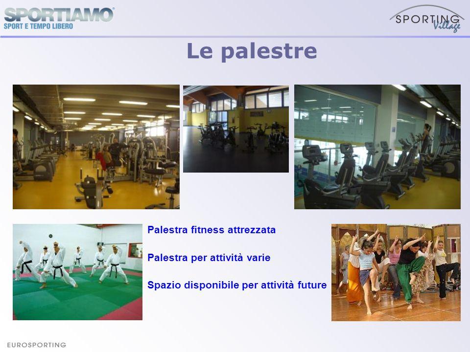 Le palestre Palestra fitness attrezzata Palestra per attività varie