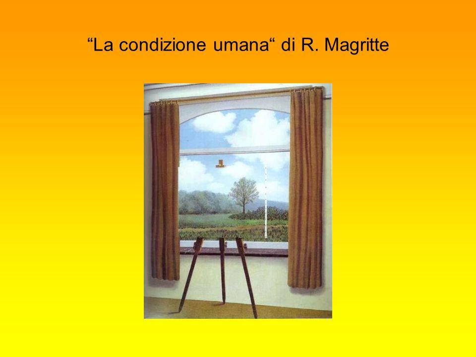 La condizione umana di R. Magritte