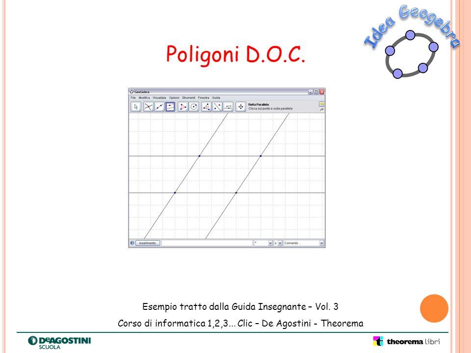 Poligoni D.O.C. Idea Geogebra