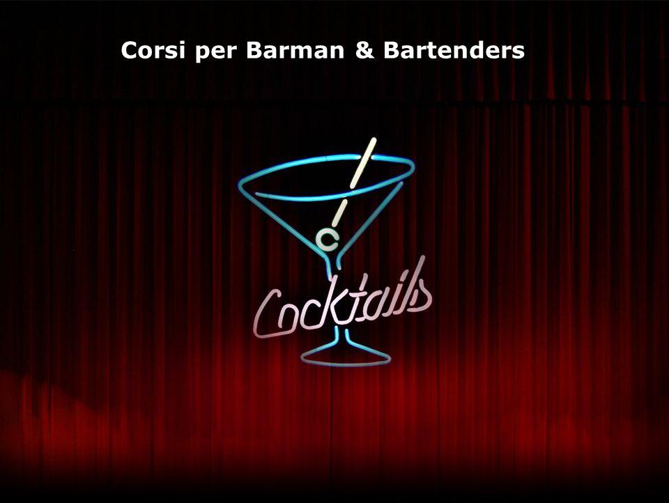 Corsi per Barman & Bartenders