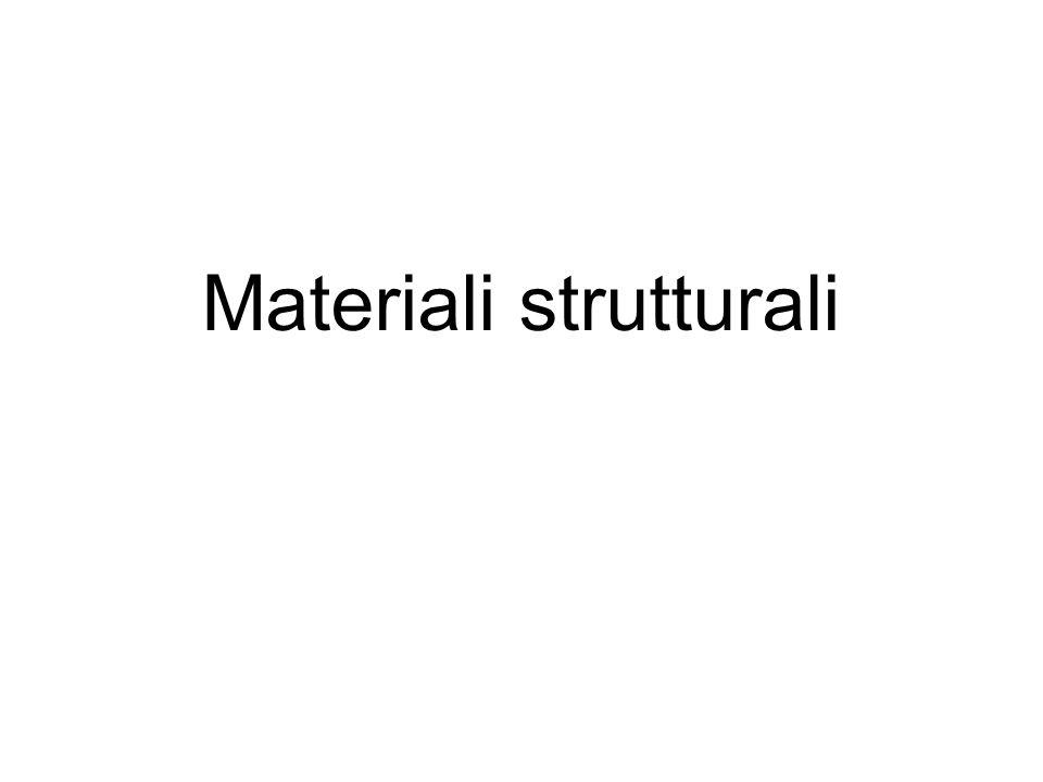 Materiali strutturali