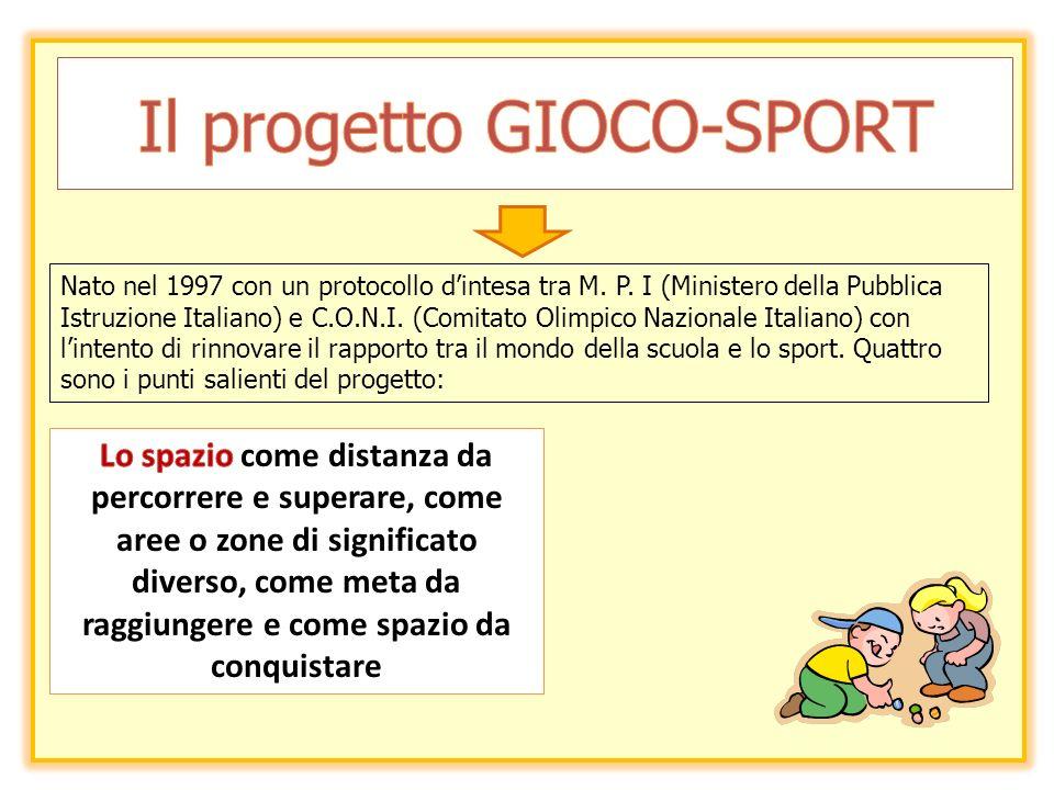 Il progetto GIOCO-SPORT