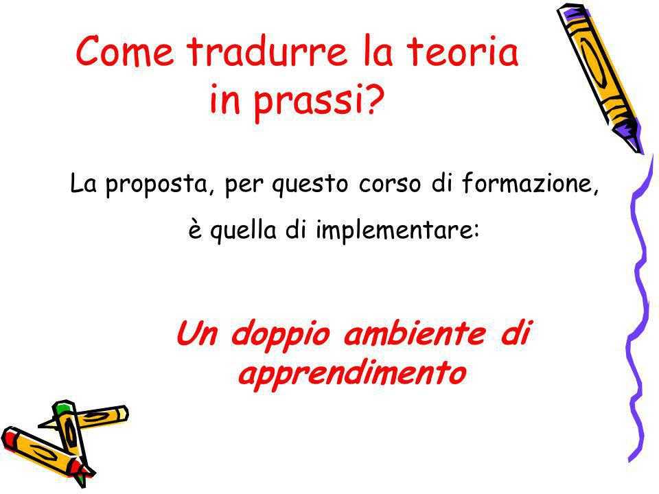 Come tradurre la teoria in prassi