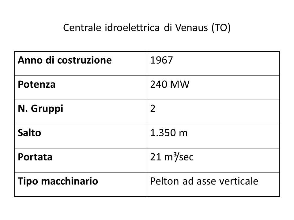 Centrale idroelettrica di Venaus (TO)