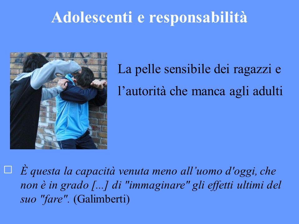Adolescenti e responsabilità