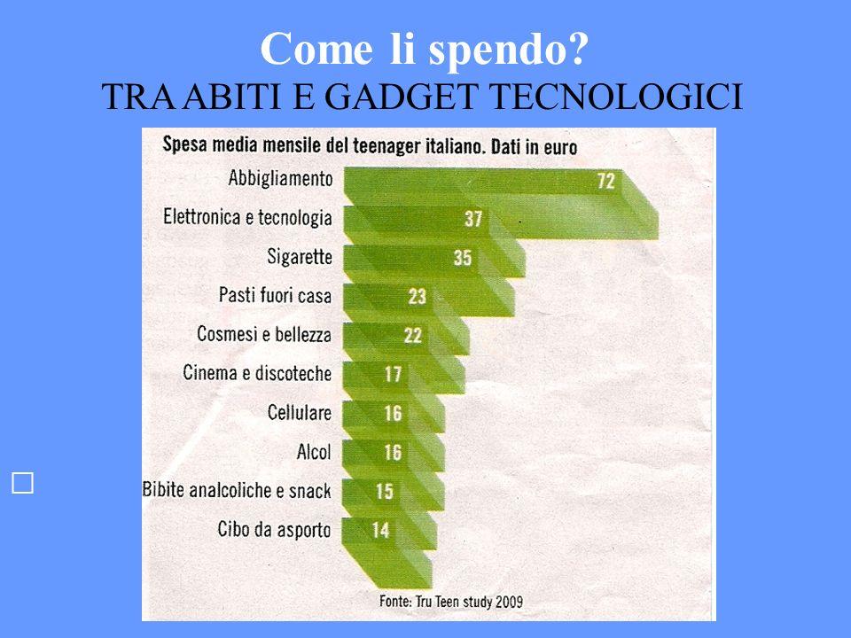 TRA ABITI E GADGET TECNOLOGICI