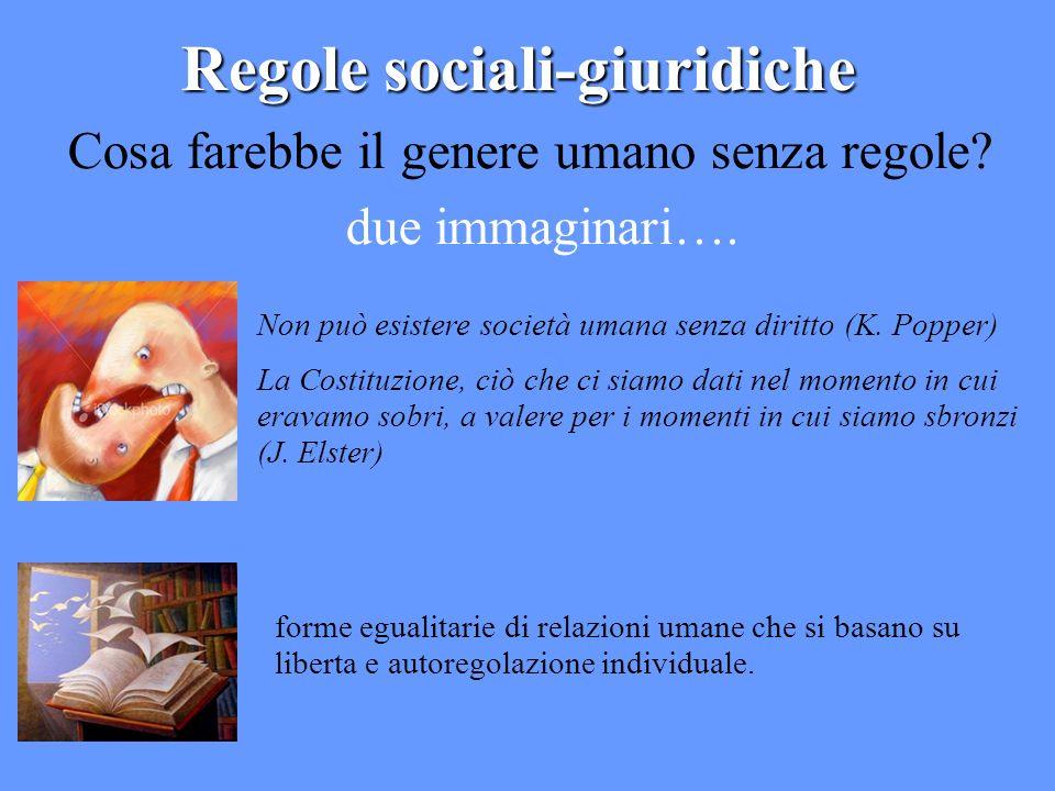 Regole sociali-giuridiche