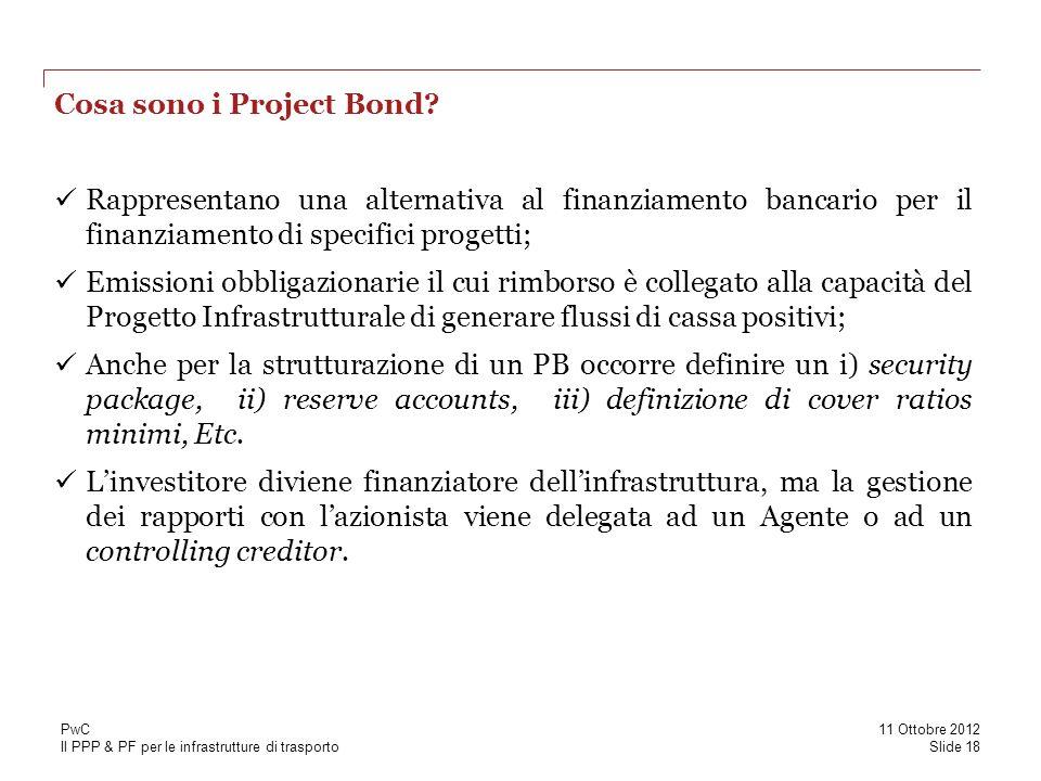 Cosa sono i Project Bond