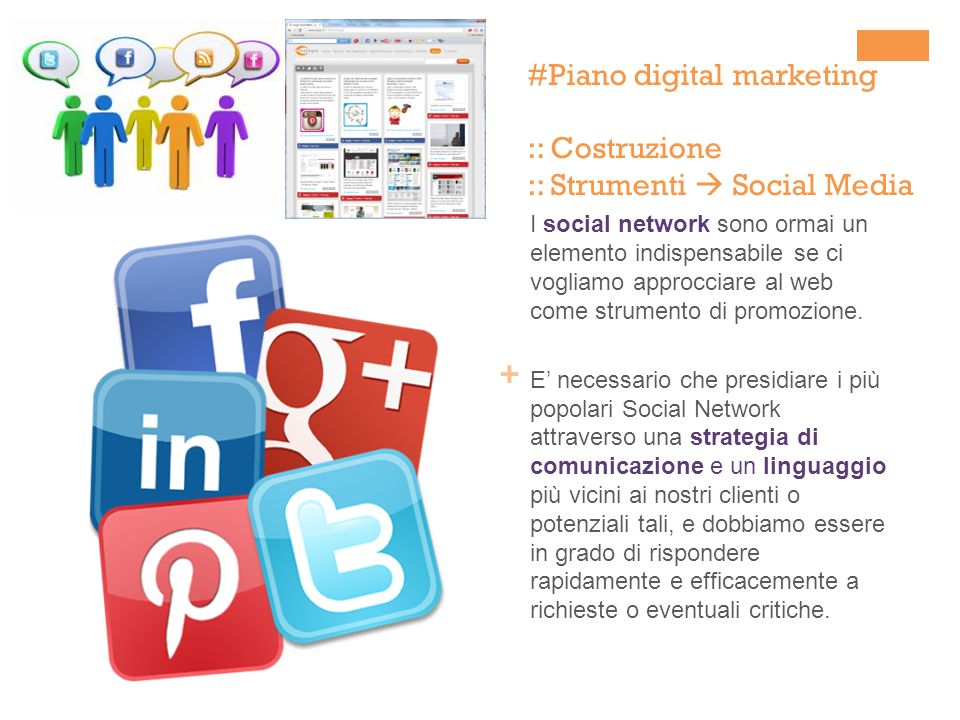 #Piano digital marketing :: Costruzione :: Strumenti  Social Media