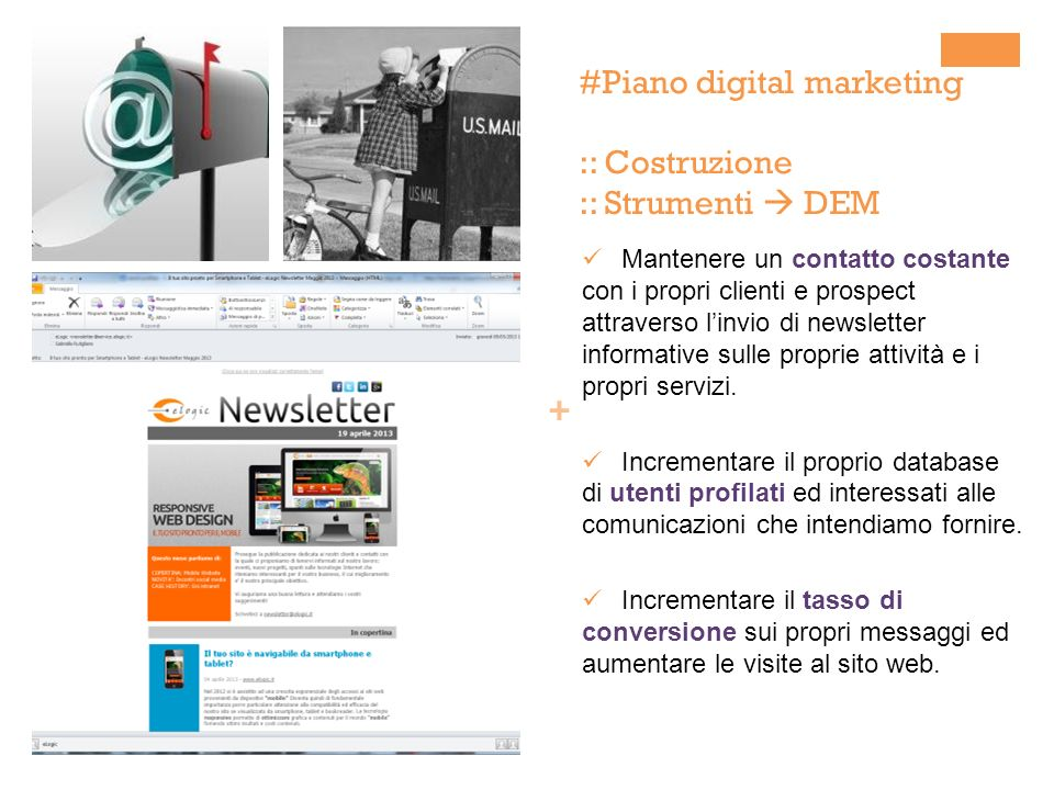 #Piano digital marketing :: Costruzione :: Strumenti  DEM