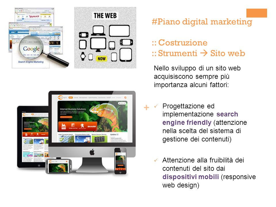 il piano di digital marketing ppt scaricare