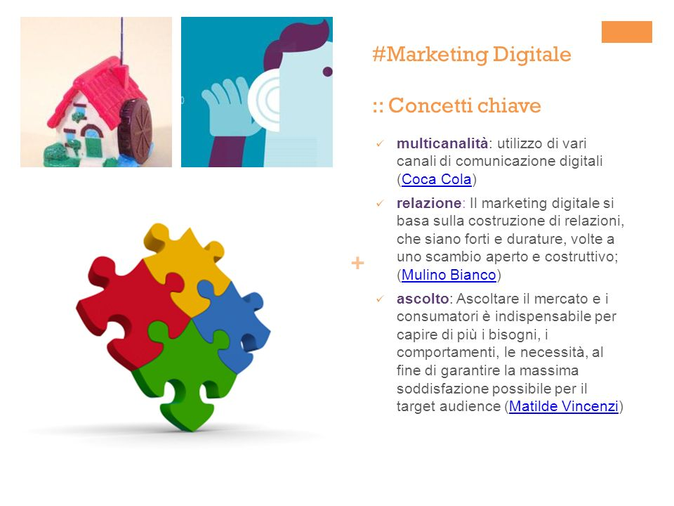 #Marketing Digitale :: Concetti chiave